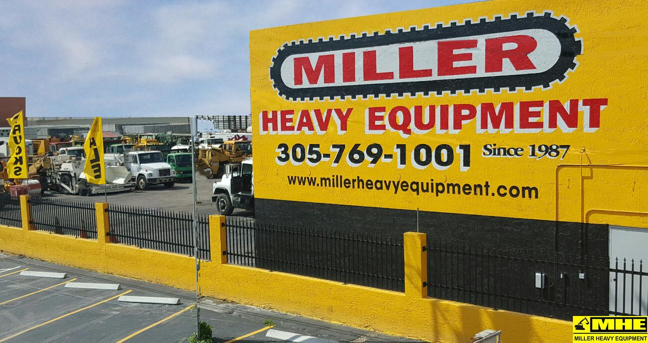 Miller used heavy equipment exporters. Used asphalt road paving equipment Bergkamp road maintenance equipment exporters refurbished and pre-owned