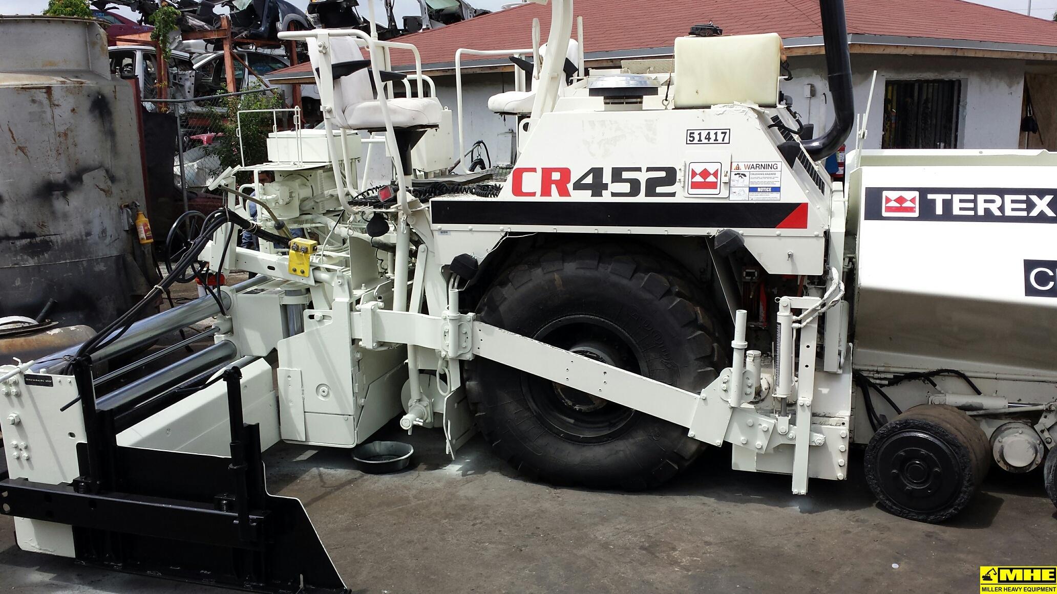 Bulldozers For Sale >> 2006 TEREX CEDAR RAPIDS CR452 PAVER – Used Heavy Equipment ...