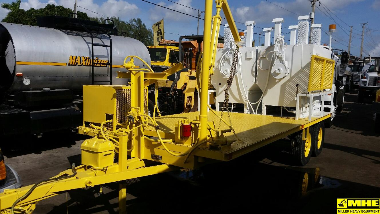 K Amp D Thermoplastic Paint Melter Trailer Used Heavy