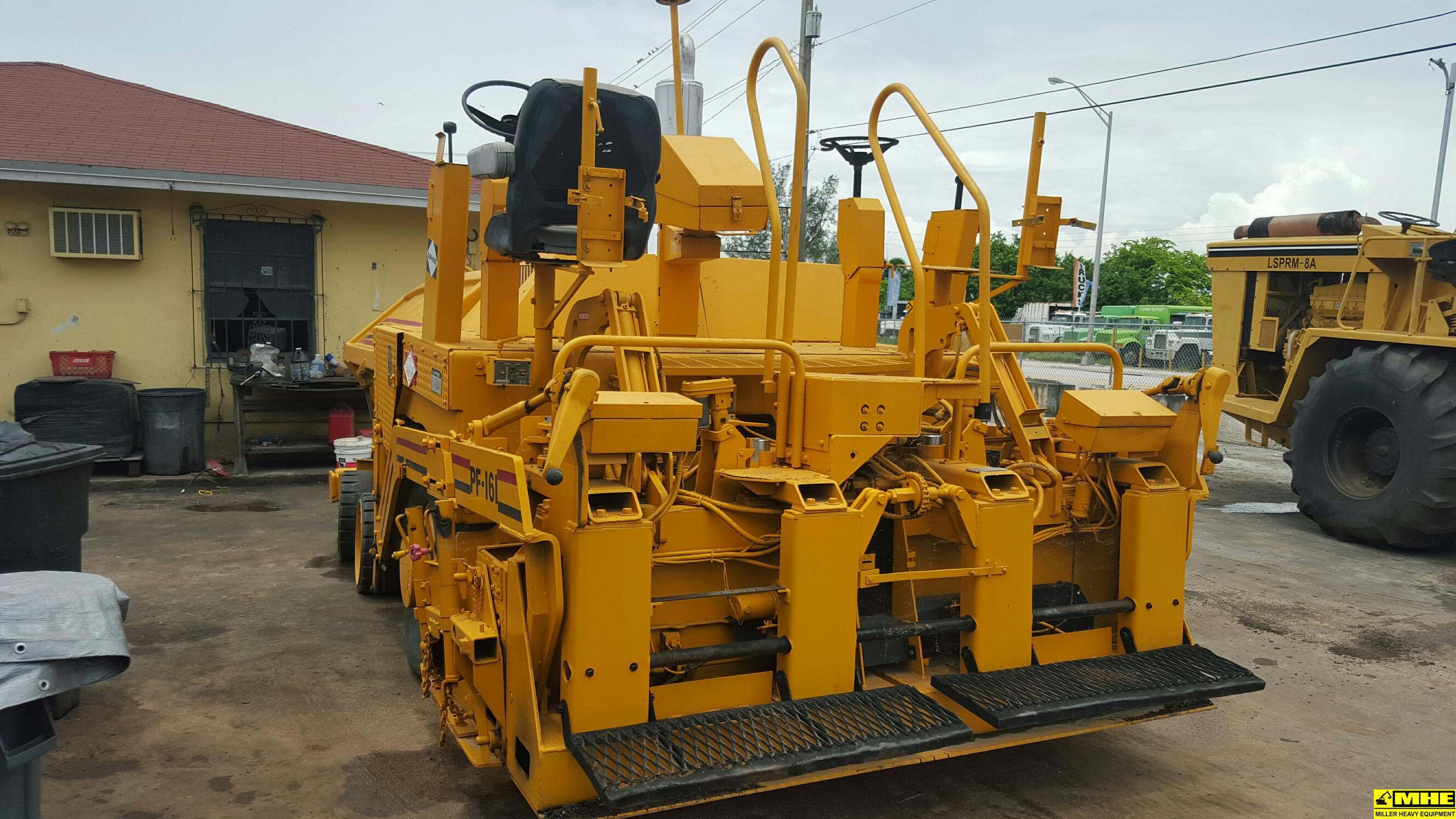 Blaw Knox Pf161 Paver Used Heavy Equipment For Sale
