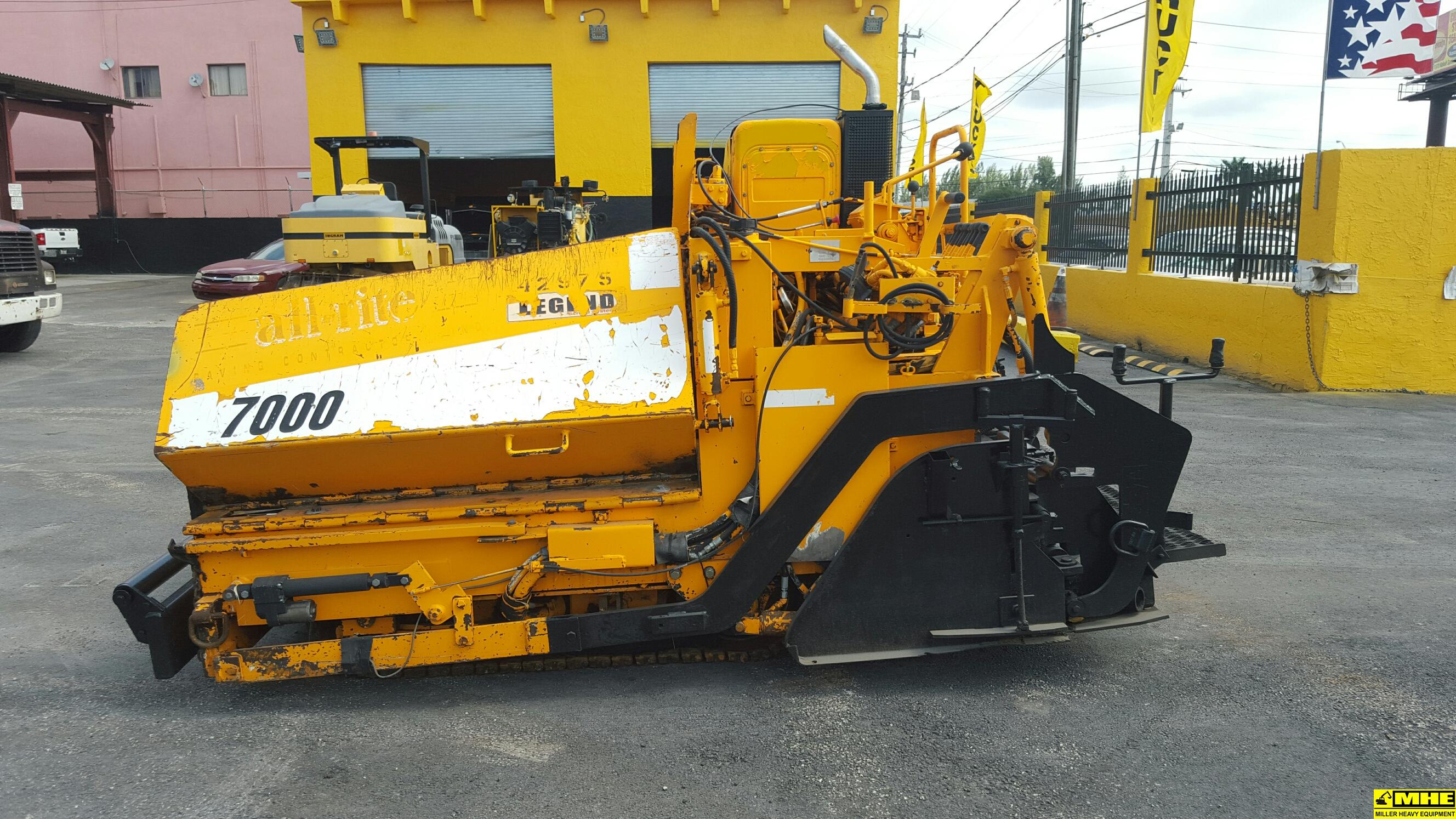 2008 Leeboy L7000ld Paver Used Heavy Equipment For Sale