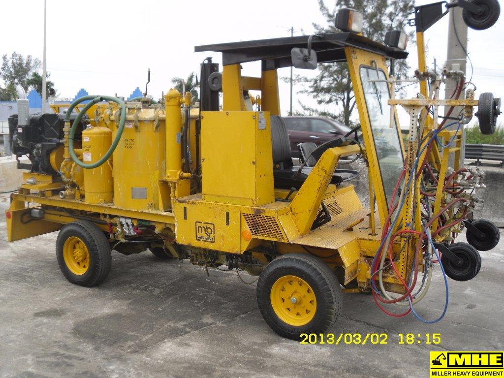 Heavy Equipment Painting : Mb co paint striper used heavy equipment for sale