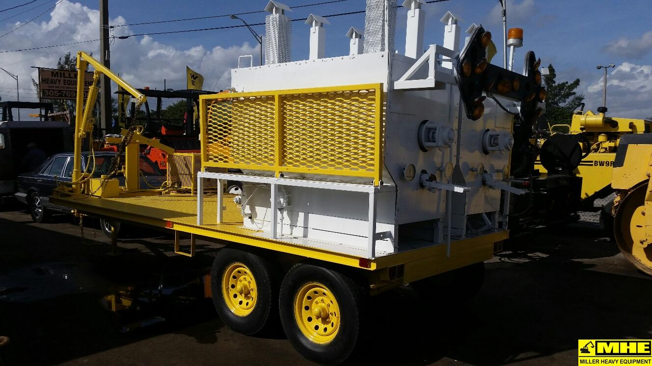 Asphalt Pavers For Sale >> K&D thermoplastic paint melter trailer – Used Heavy ...