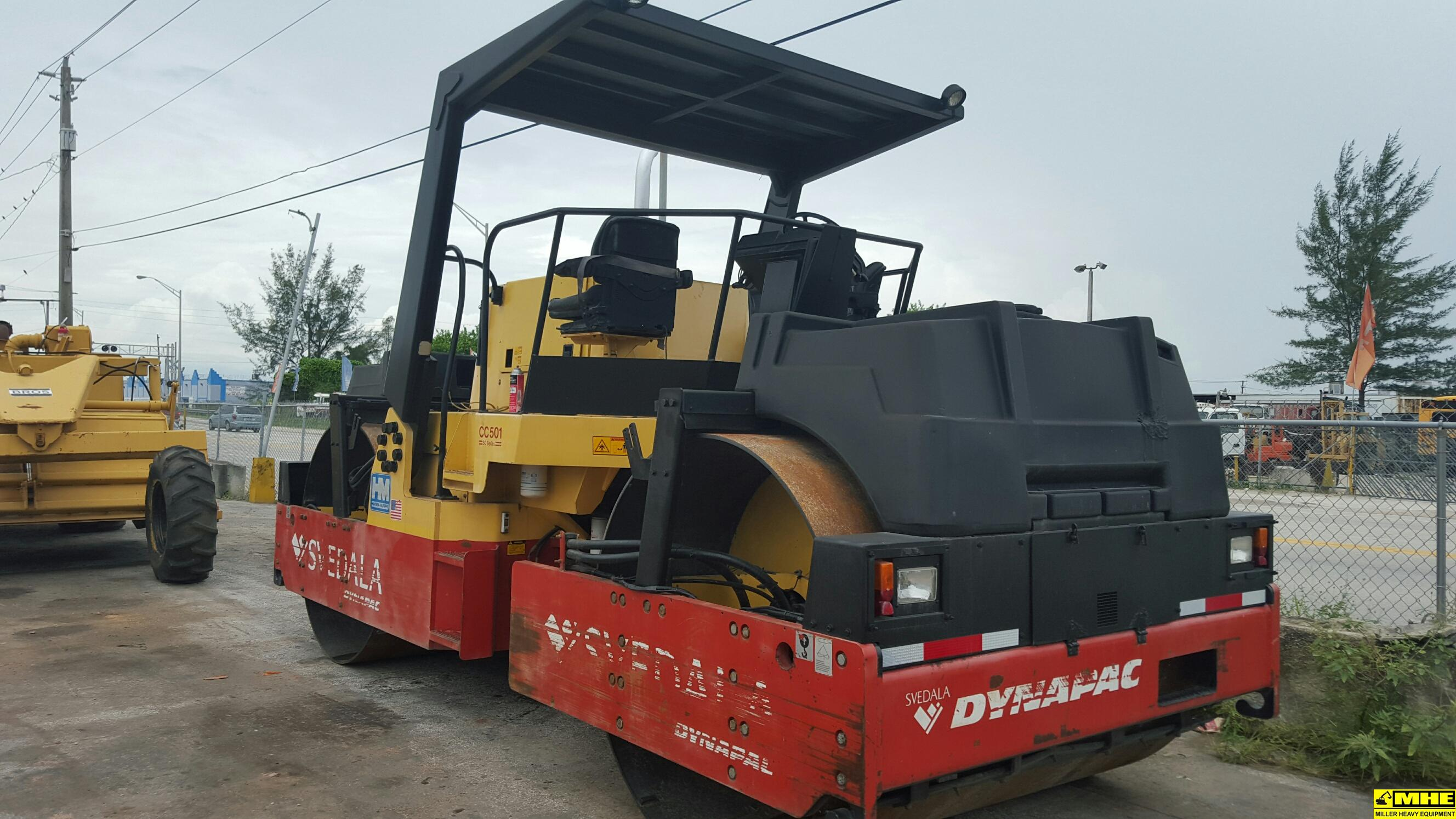 Bulldozers For Sale >> DYNAPAC CC501 roller – Used Heavy Equipment For Sale Asphalt Paving Road Construction Bergkamp ...