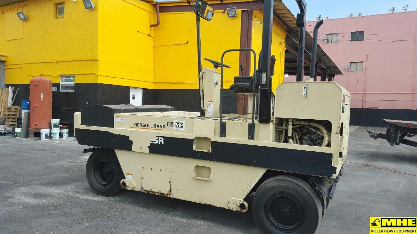 Ingersoll Rand Pt125 Traffic Roller Used Heavy Equipment