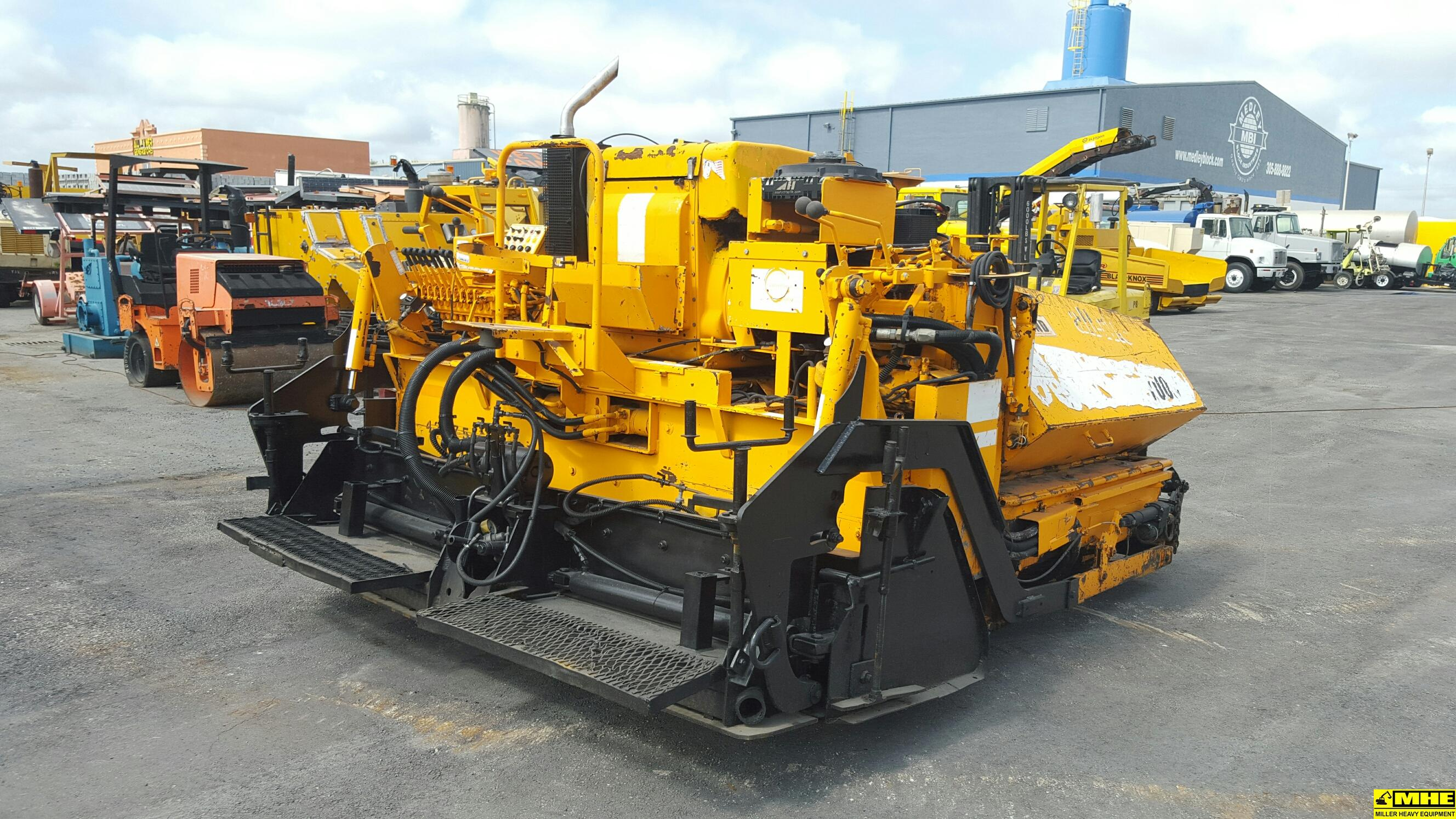 Bulldozers For Sale >> 2008 Leeboy L7000LD paver – Used Heavy Equipment For Sale Asphalt Paving Road Construction ...