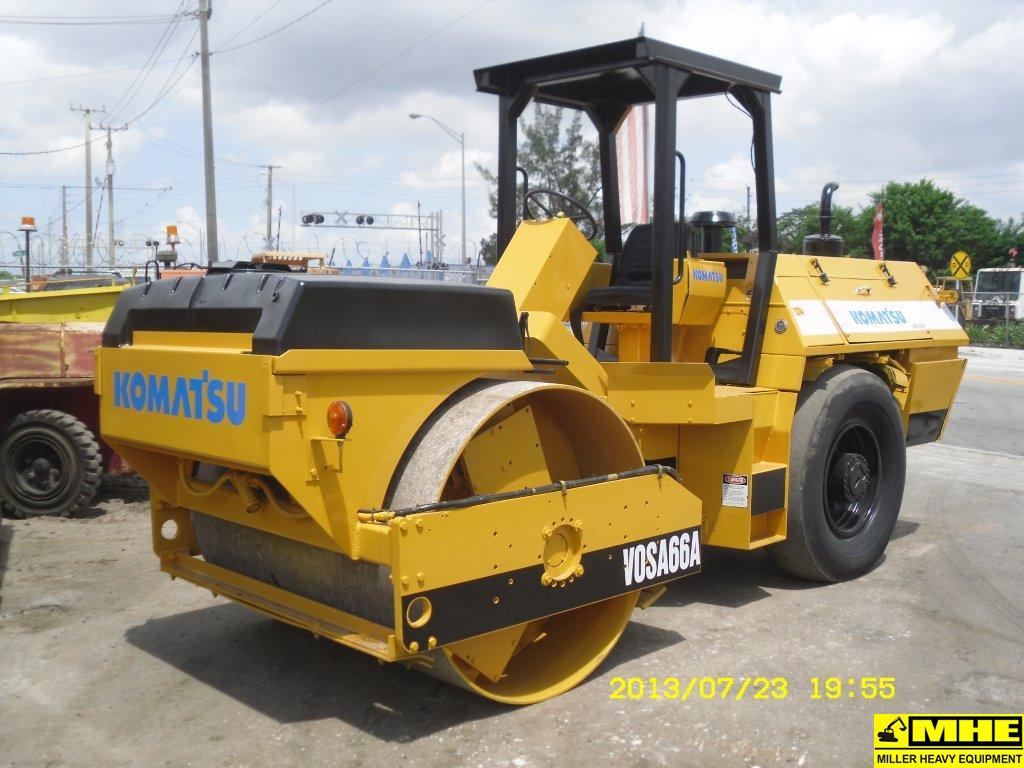 KOMATSU VOS266A ROLLER – Used Heavy Equipment For Sale